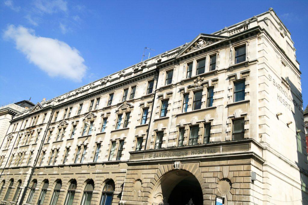 St Bartholomew Hospital Public Buildings