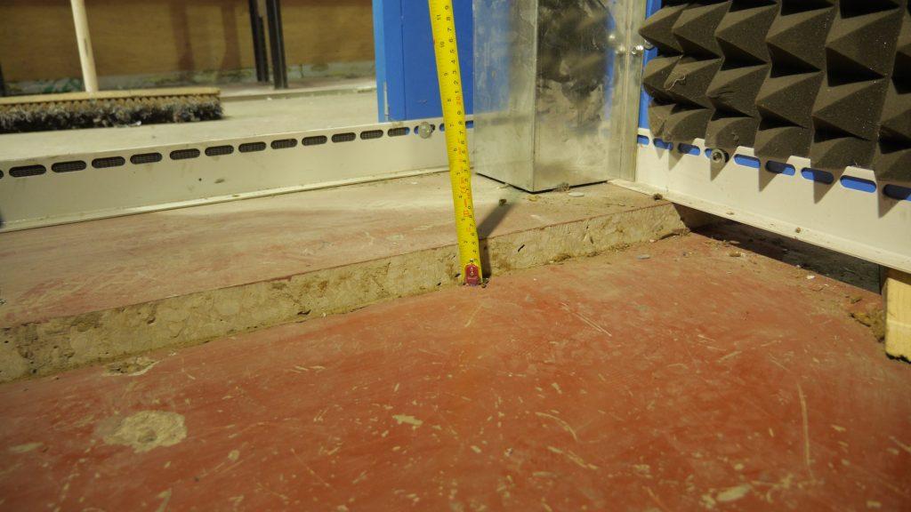 Relevelling concrete slab